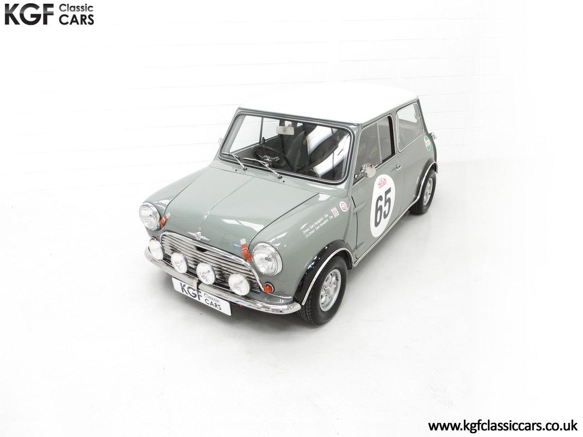 1965 A Rare Homologation Morris Mini Mk1 Cooper S 970cc For Sale (picture 5 of 24)
