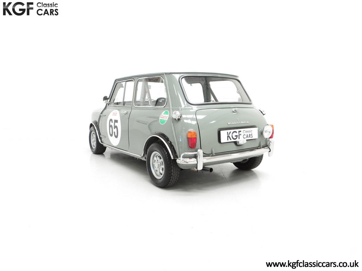 1965 A Rare Homologation Morris Mini Mk1 Cooper S 970cc For Sale (picture 8 of 24)
