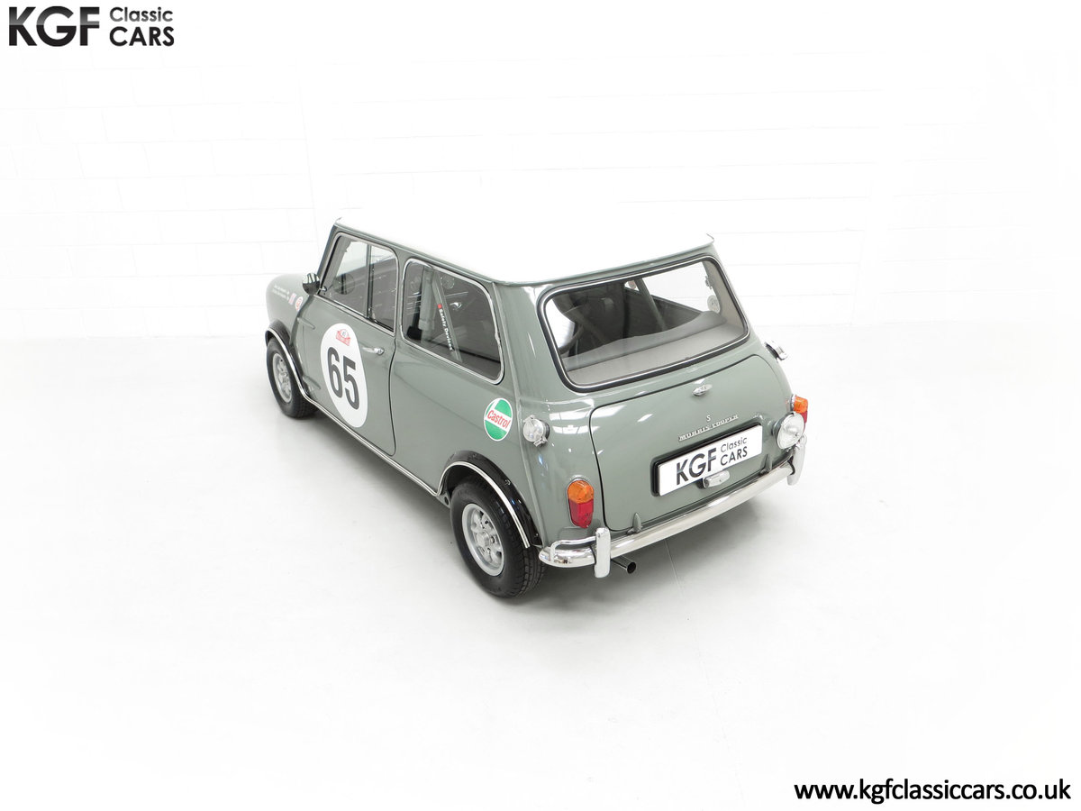 1965 A Rare Homologation Morris Mini Mk1 Cooper S 970cc For Sale (picture 9 of 24)
