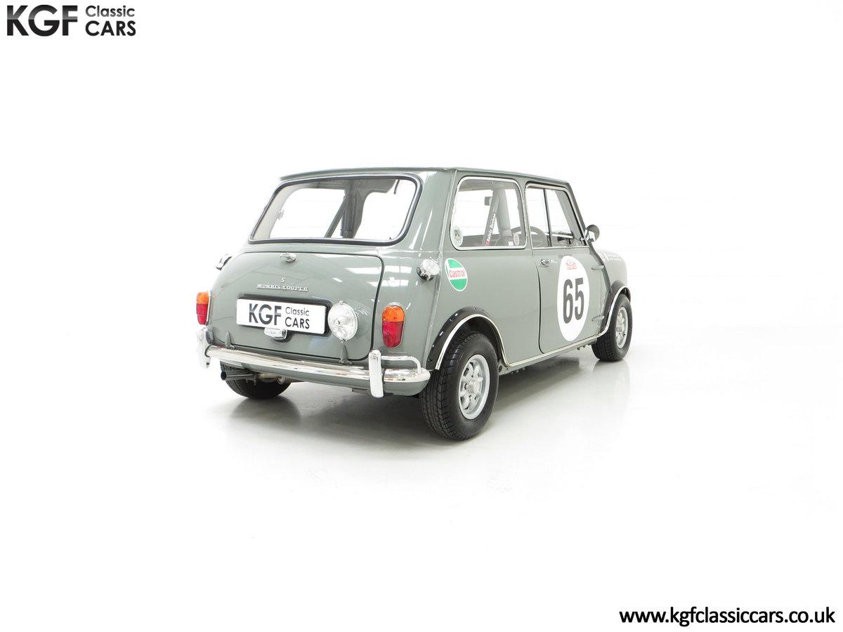 1965 A Rare Homologation Morris Mini Mk1 Cooper S 970cc For Sale (picture 13 of 24)