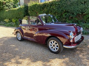 Morris Minor Convertible in excellent condition