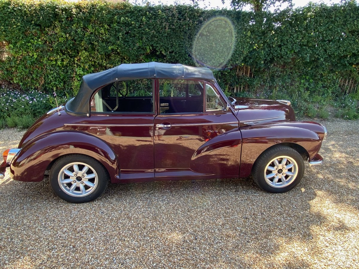 1966 Morris Minor Convertible in excellent condition SOLD (picture 3 of 6)