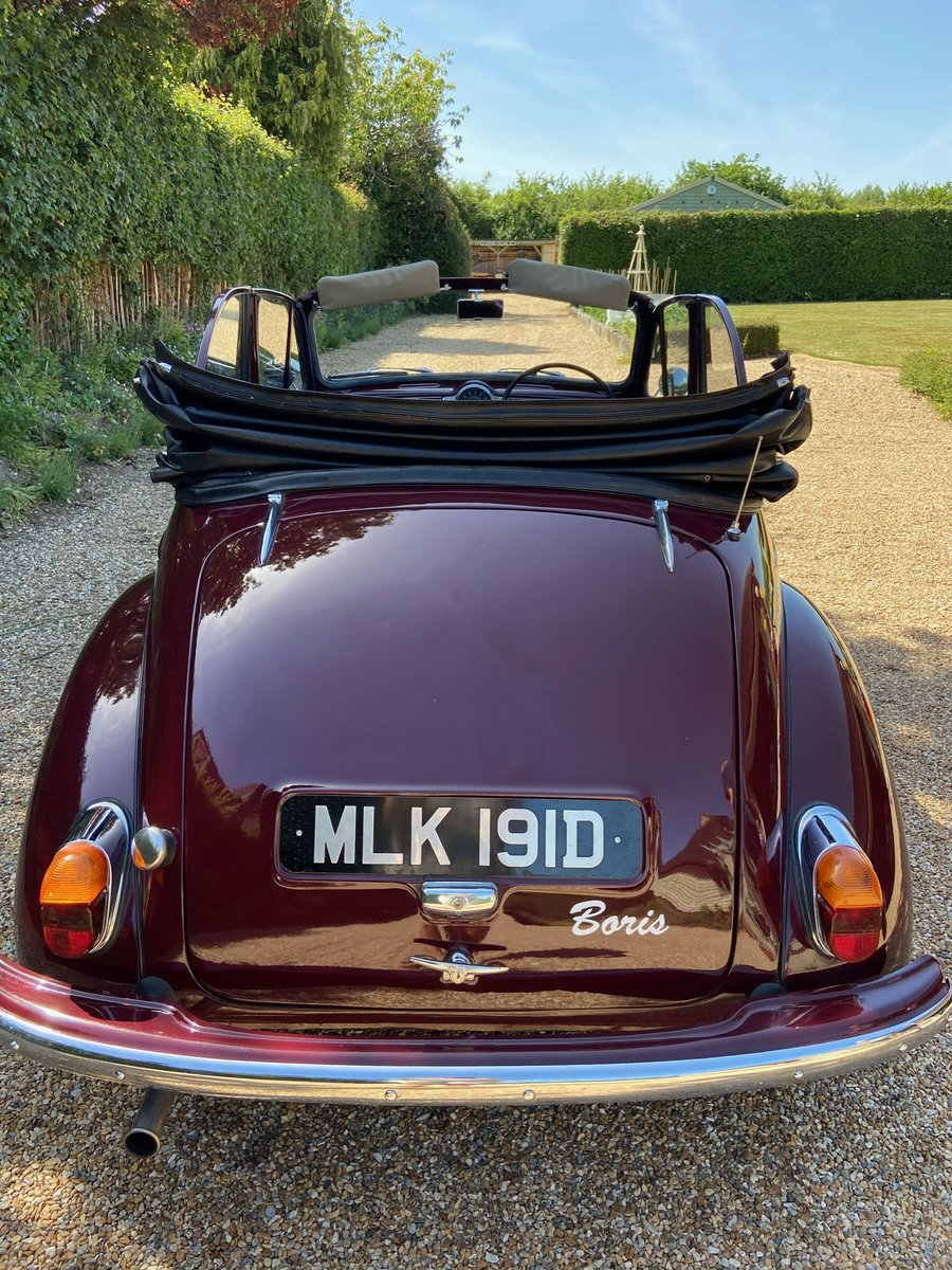 1966 Morris Minor Convertible in excellent condition SOLD (picture 5 of 6)