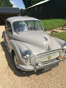 1962 Morris Minor 1000 2 Door For Sale