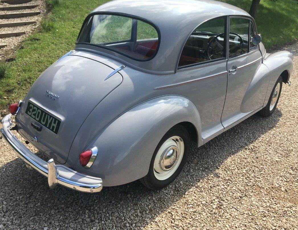 1962 Morris Minor 1000 2 Door SOLD (picture 3 of 5)