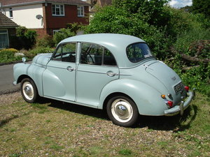 1963 Morris Minor 1000 Deluxe