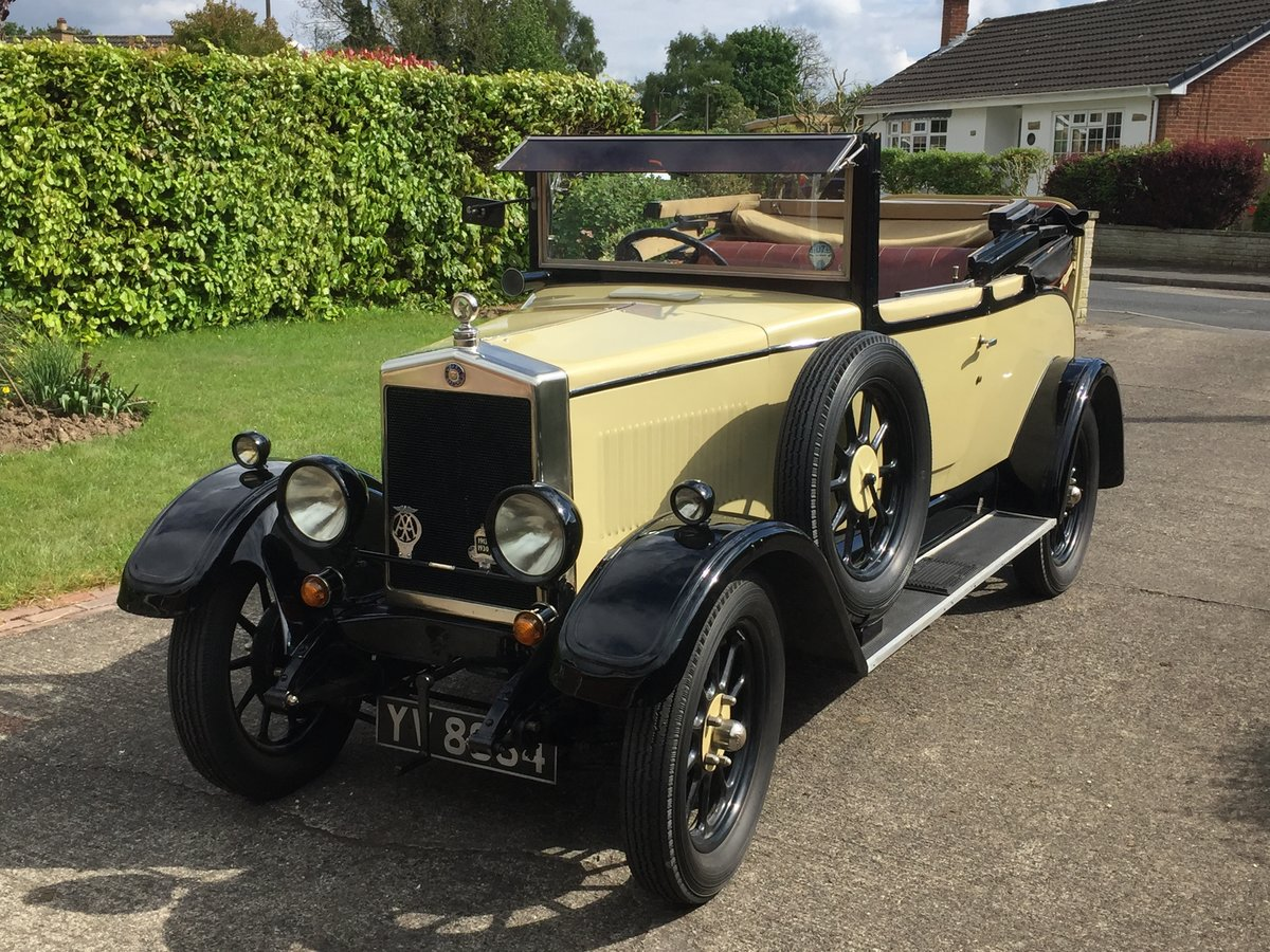 1928 Morris Oxford 3/4 coupe For Sale (picture 1 of 6)
