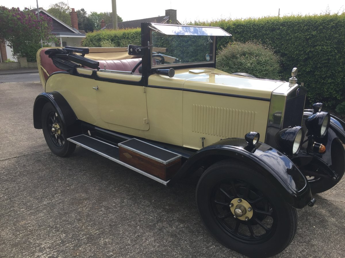1928 Morris Oxford 3/4 coupe For Sale (picture 2 of 6)