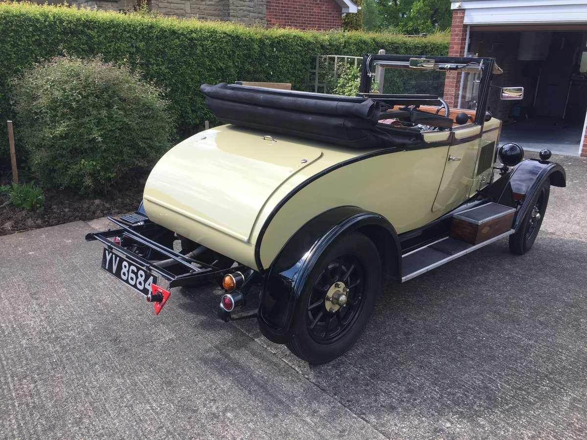 1928 Morris Oxford 3/4 coupe For Sale (picture 3 of 6)