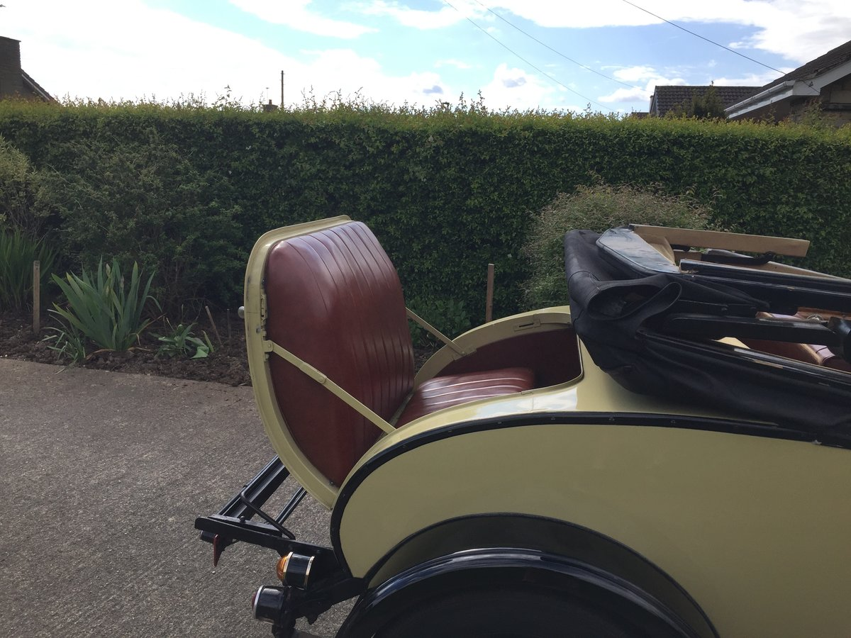 1928 Morris Oxford 3/4 coupe For Sale (picture 4 of 6)