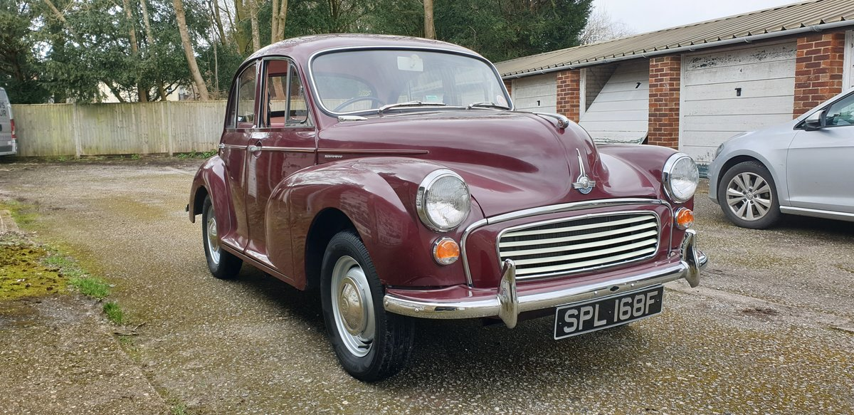 1968 Morris Minor 1000 SOLD (picture 2 of 6)