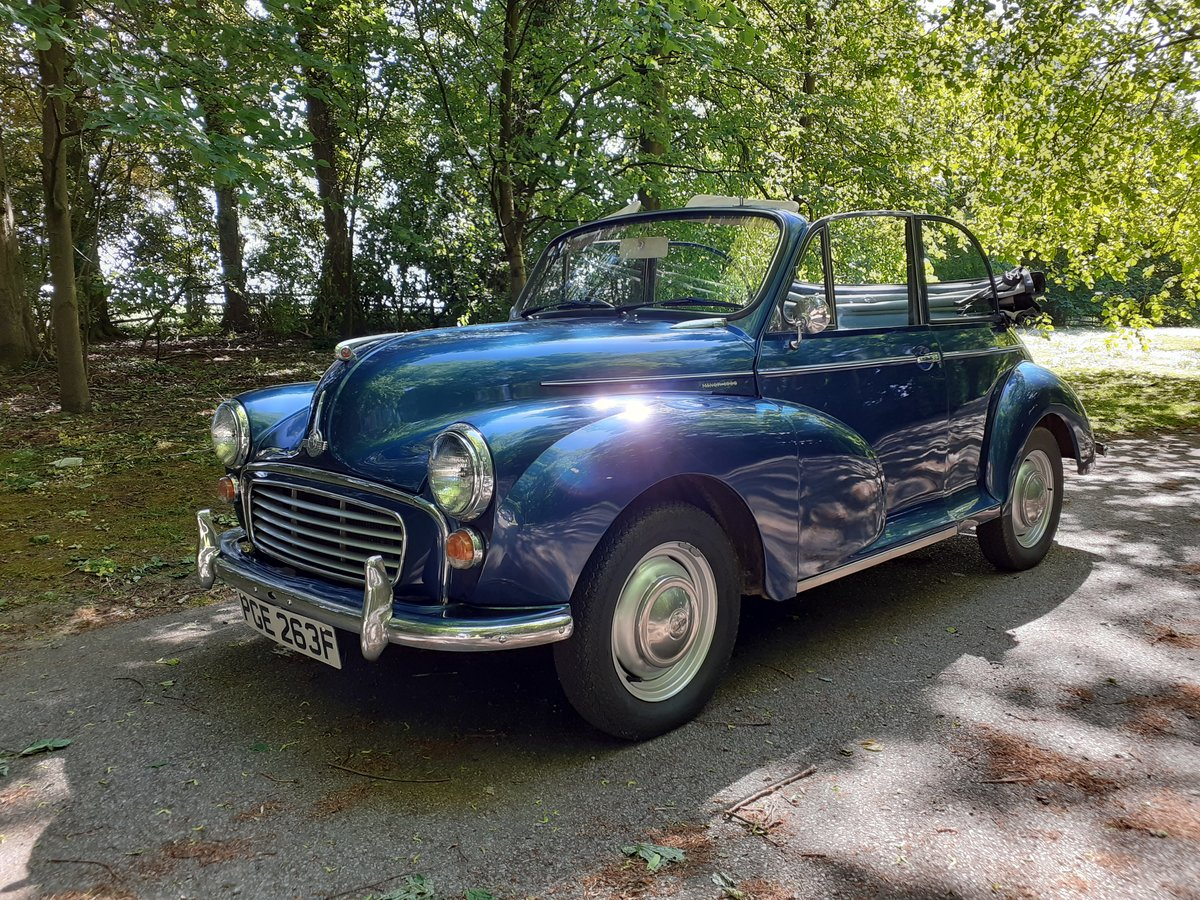1968 Superb Morris Minor Convertible SOLD (picture 1 of 6)