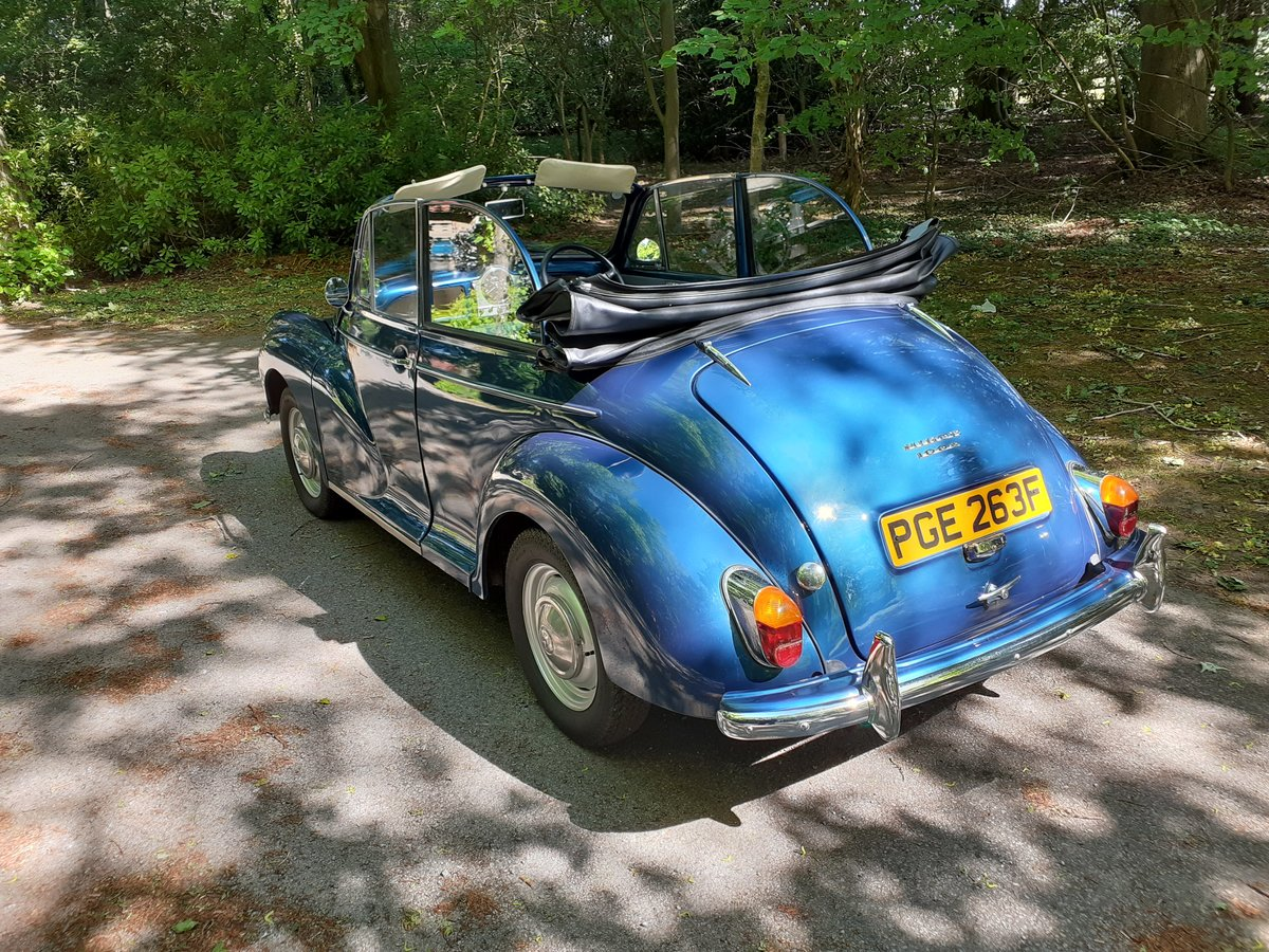 1968 Superb Morris Minor Convertible SOLD (picture 3 of 6)