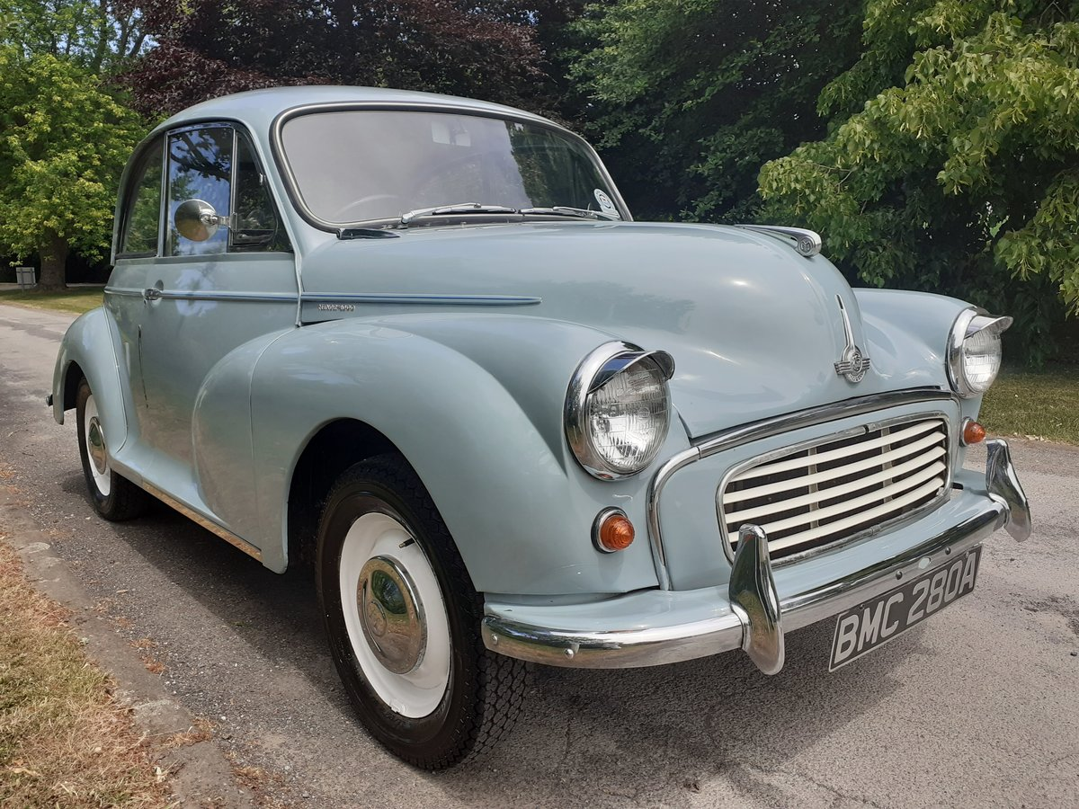 1963 MORRIS MINOR 2DR SALOON 'FLORIE' ~ MOT MAY 2021 ~ BMC REG! SOLD (picture 1 of 6)