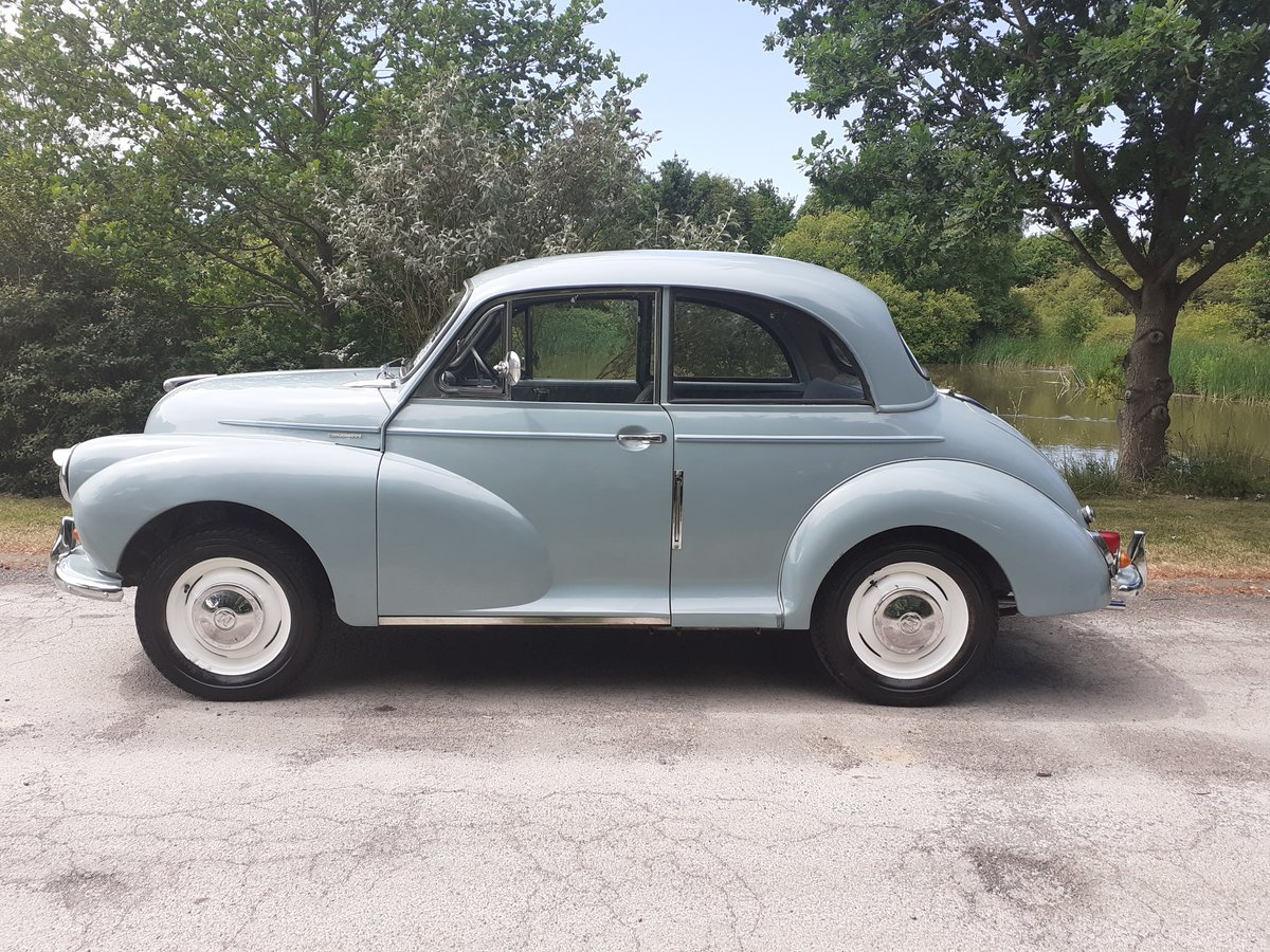 1963 MORRIS MINOR 2DR SALOON 'FLORIE' ~ MOT MAY 2021 ~ BMC REG! SOLD (picture 2 of 6)
