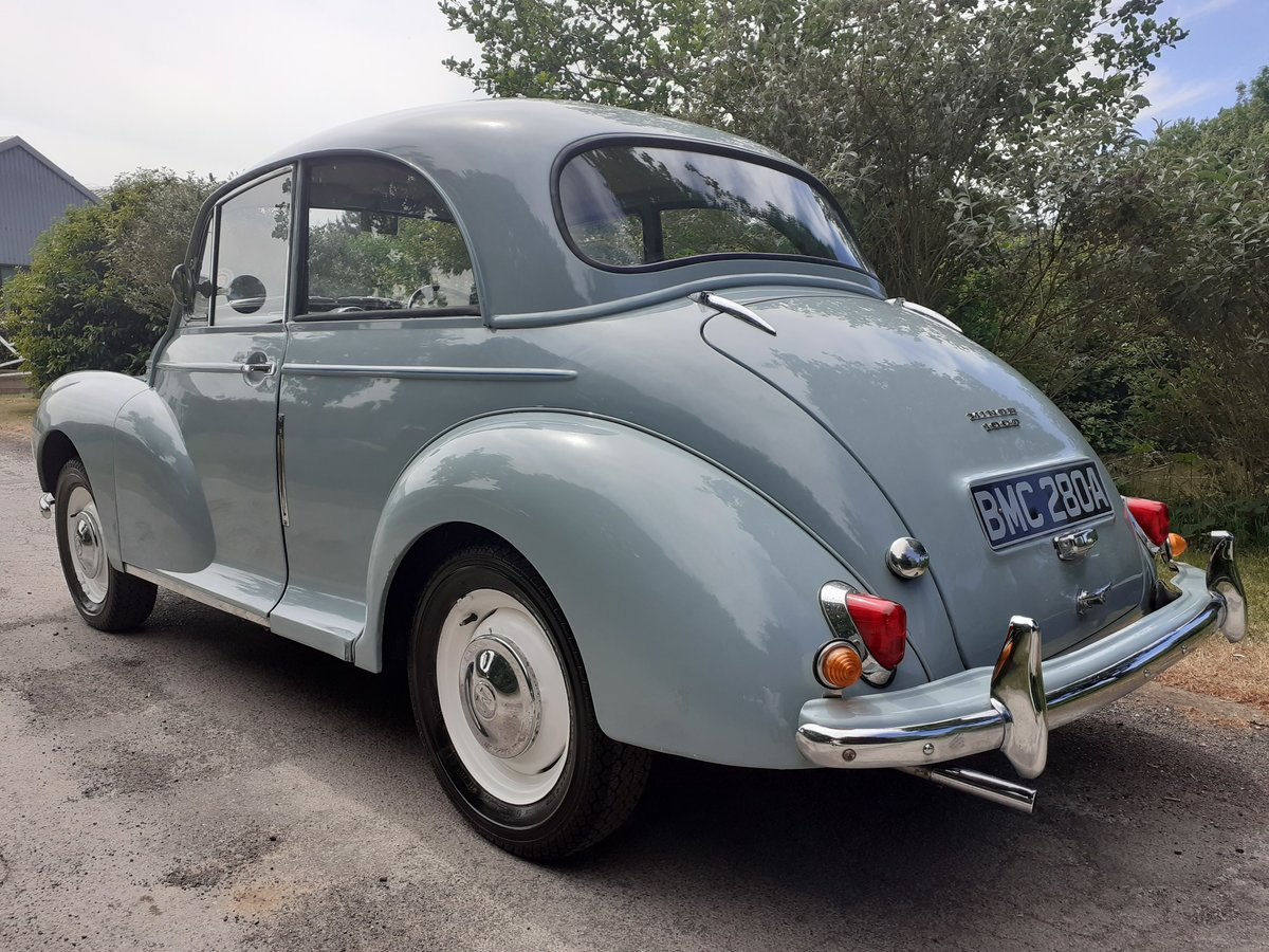 1963 MORRIS MINOR 2DR SALOON 'FLORIE' ~ MOT MAY 2021 ~ BMC REG! SOLD (picture 3 of 6)