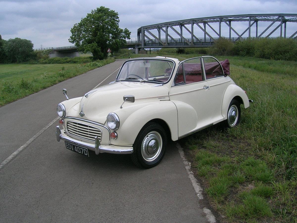 1966 Morris Minor 1000 Factory Convertible  For Sale (picture 1 of 6)