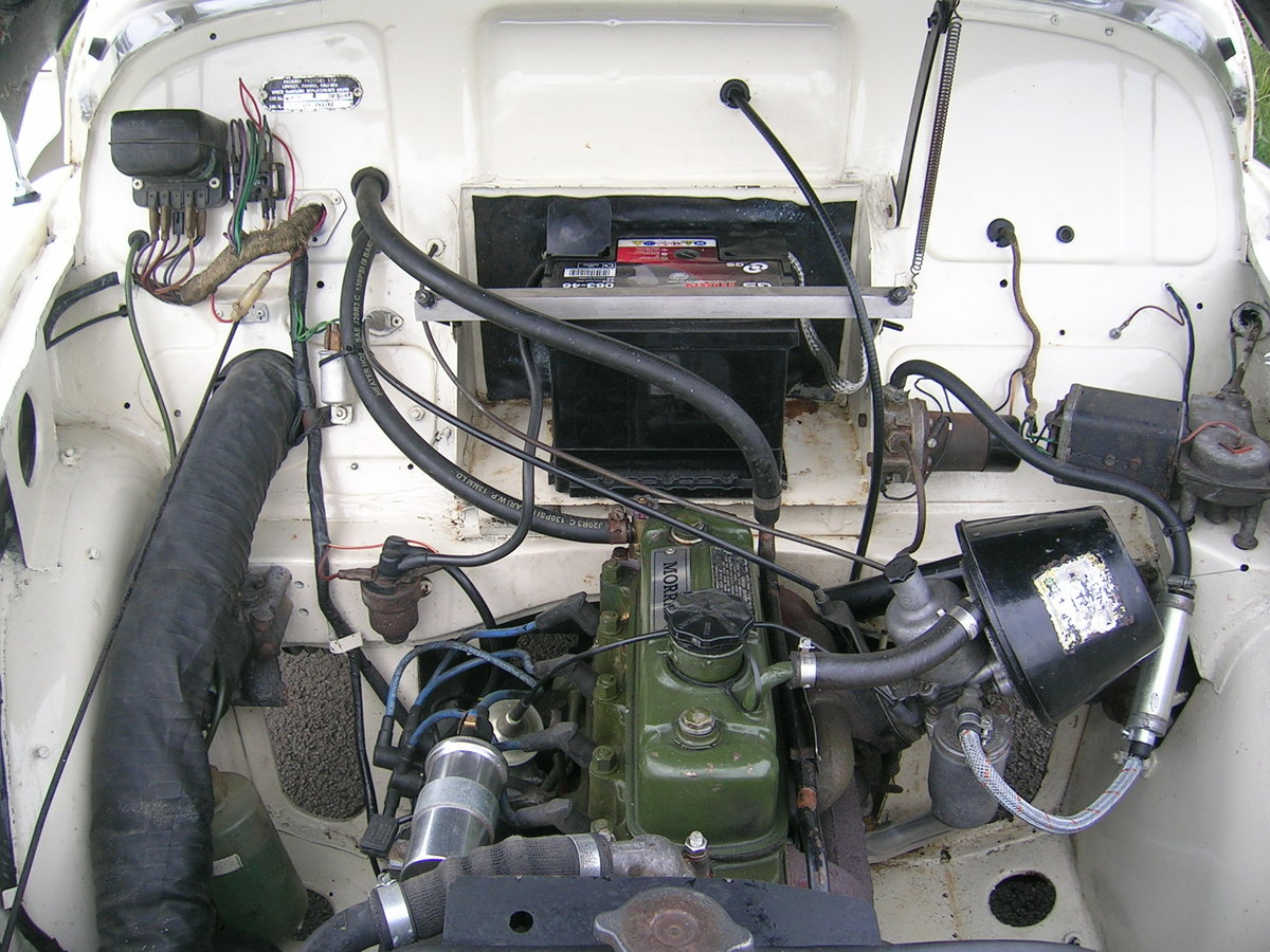 1966 Morris Minor 1000 Factory Convertible  For Sale (picture 5 of 6)
