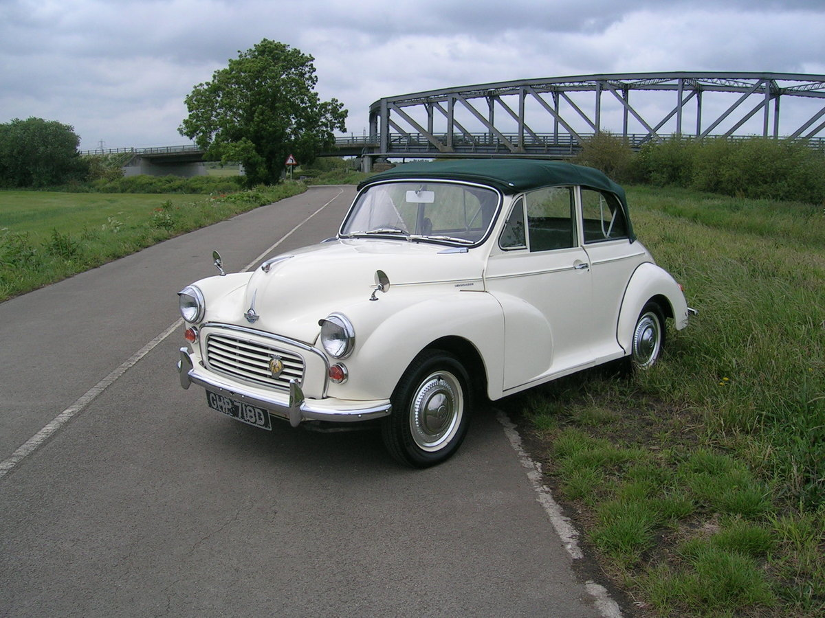 1966 Morris Minor 1000 Factory Convertible  For Sale (picture 2 of 6)