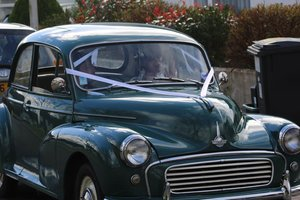 Green Original Morris Minor