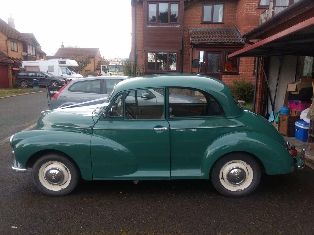 1963 Green Original Morris Minor For Sale (picture 2 of 6)