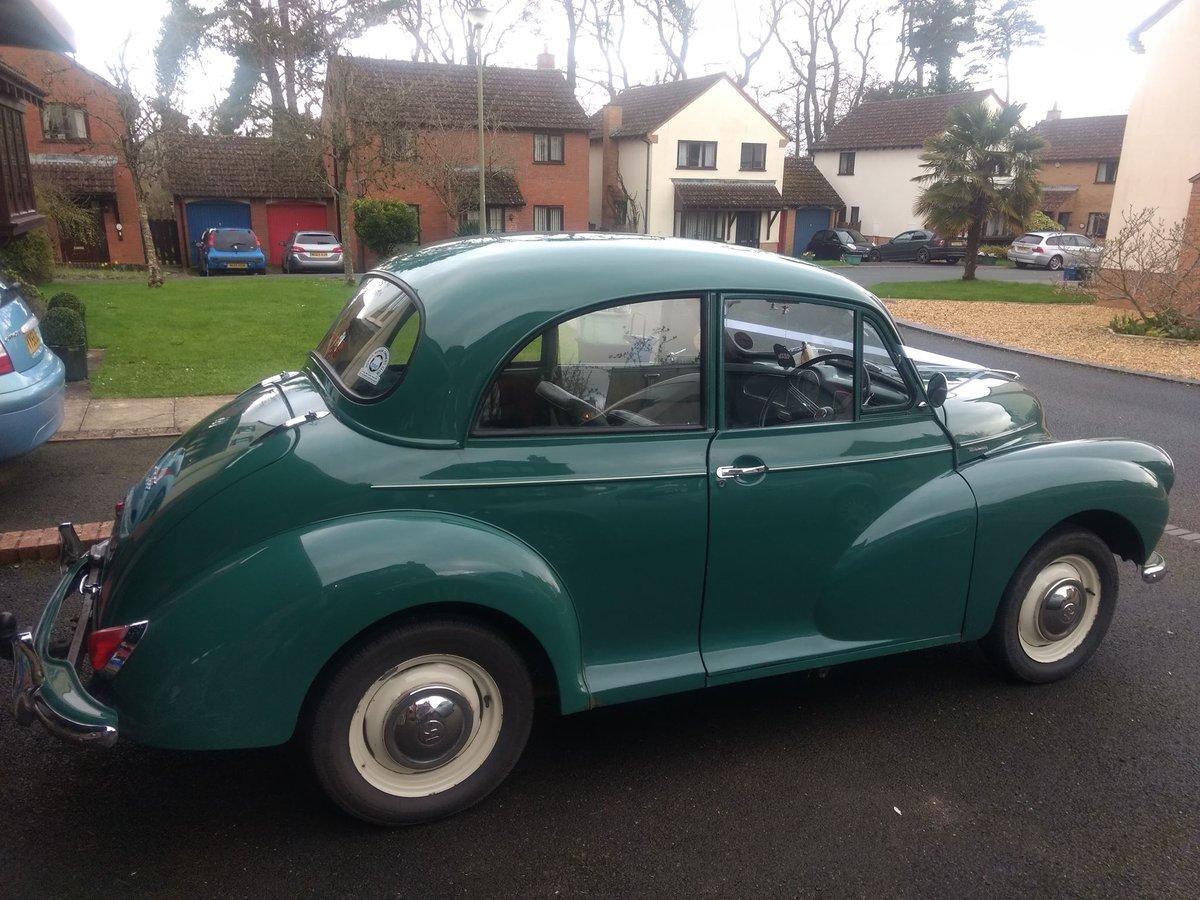1963 Green Original Morris Minor For Sale (picture 6 of 6)