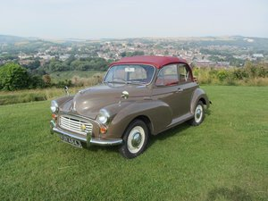 1970 Morris Minor convertible 1971  For Sale