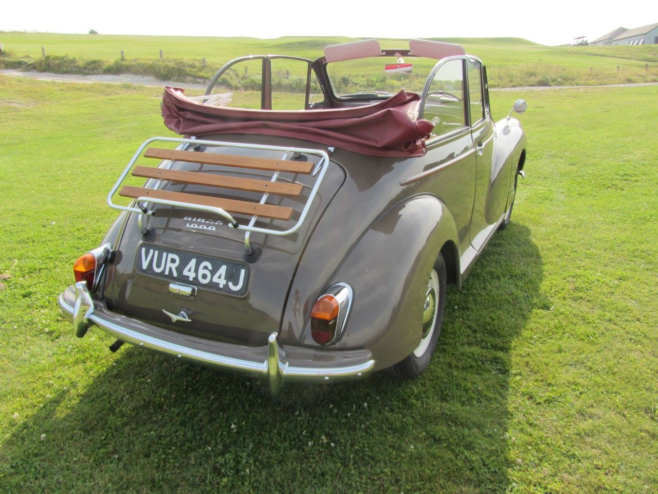 1970 Morris Minor convertible 1971  For Sale (picture 4 of 6)