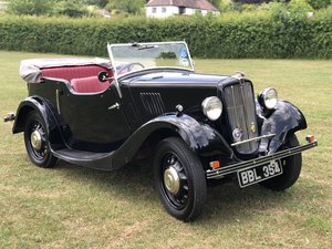 1938 Morris Eight Series II Four Seat Tourer For Sale