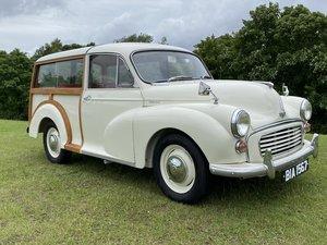1967 Morris Minor Traveller 1 family owned full restoration