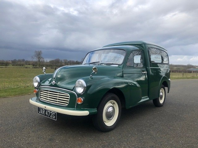 1969 Morris Minor Van SOLD (picture 1 of 6)