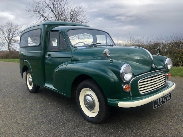 1969 Morris Minor Van SOLD (picture 3 of 6)
