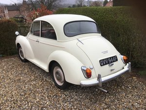 Morris Minor 2 door saloon