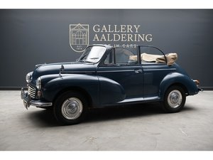 1970 Morris Minor 1000 Convertible RHD ,Extensive history/service For Sale