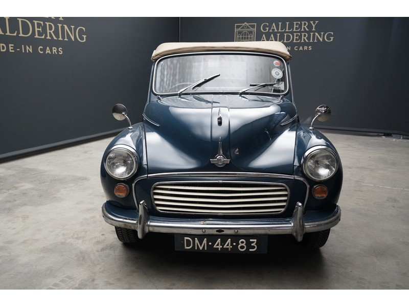 1970 Morris Minor 1000 Convertible RHD ,Extensive history/service For Sale (picture 5 of 6)