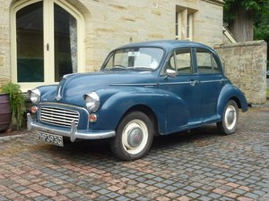 1969 Morris Minor 1000 Saloon For Sale by Auction