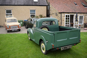 1966 MORRIS MINOR PICK-UP - RECENT RESTO WORK, VERY RARE NOW For Sale