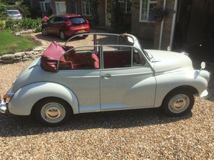 1967 (SOLD) Morris Minor Old English Convertible