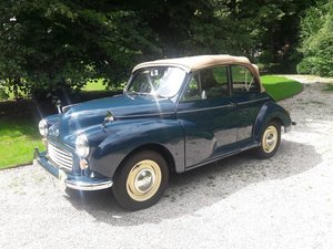 Picture of MORRIS MINOR TOURER BLEU 1966  7950 EURO  DUTCH CAR SOLD