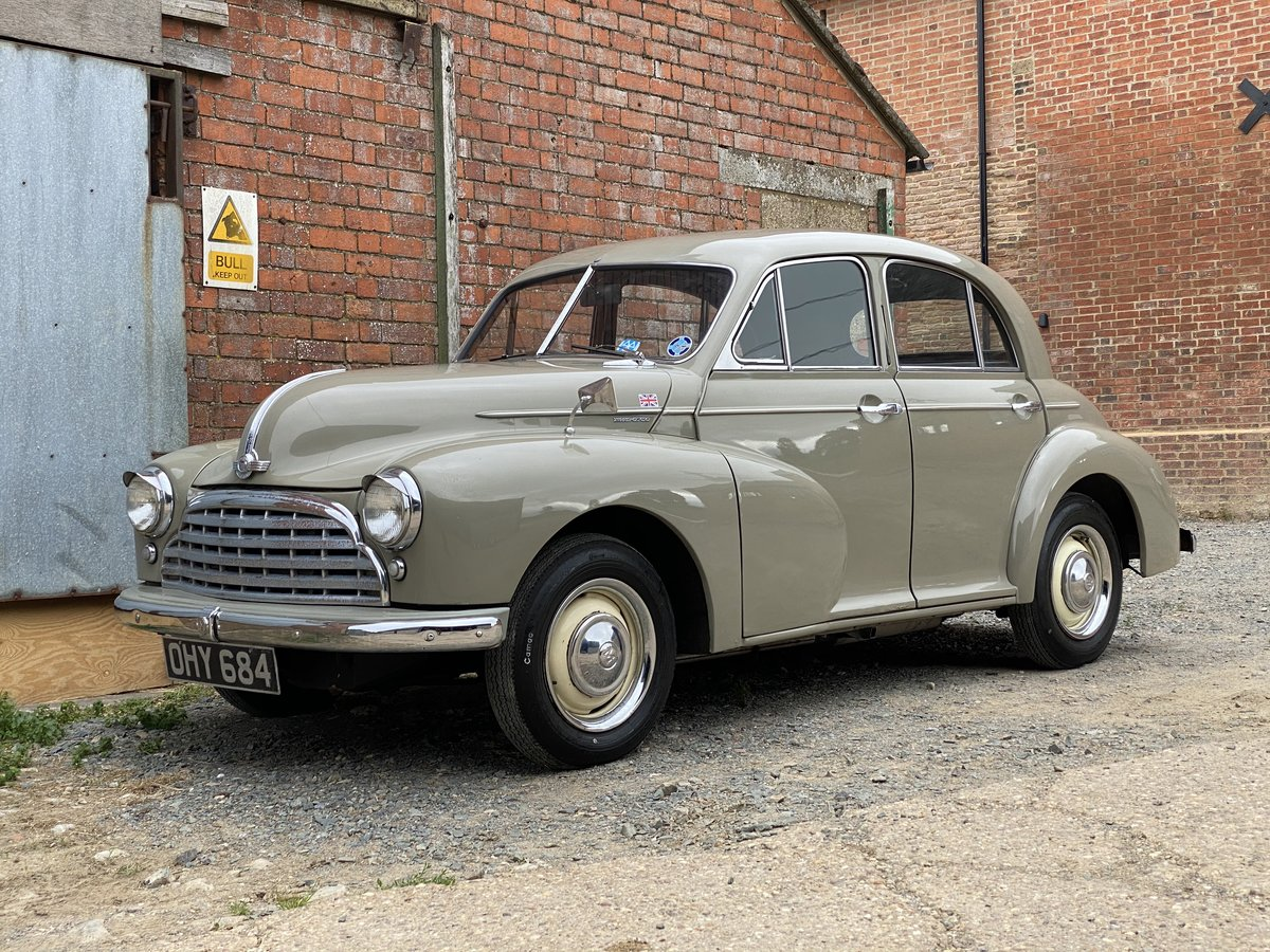 1952 Morris Oxford M.O. 1477cc Four Speed Manual SOLD (picture 2 of 6)