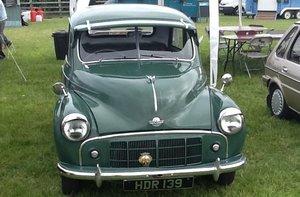 1953 MORRIS MM SERIES 918CC SIDE VALVE