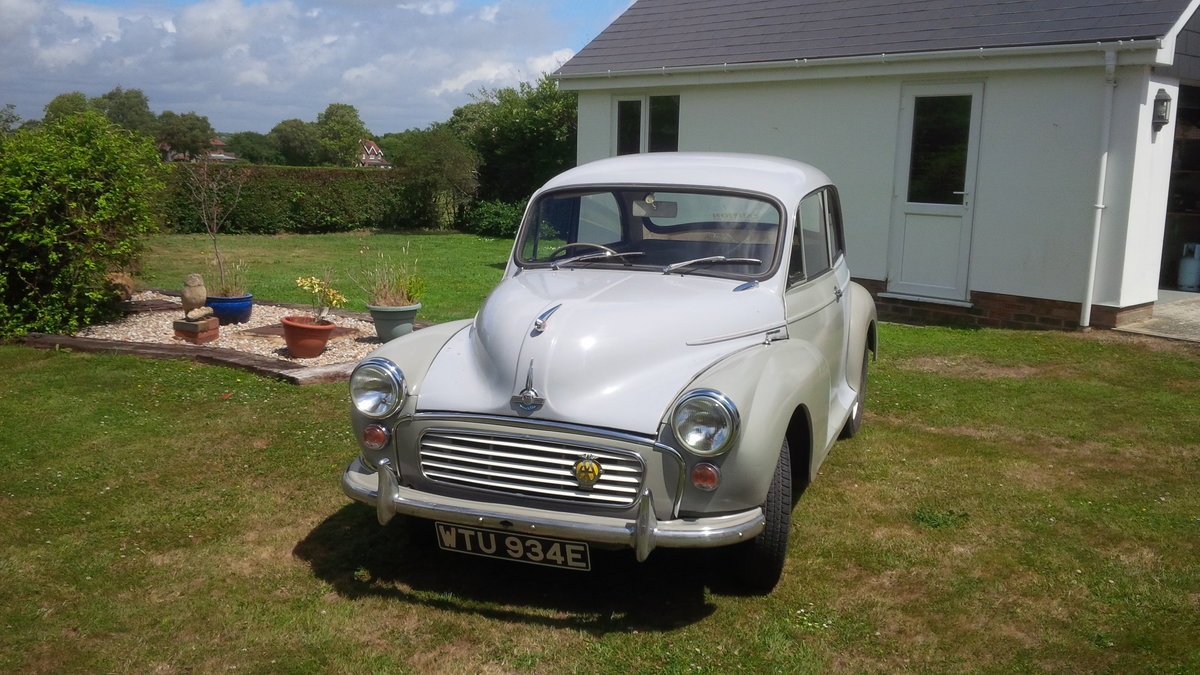1967 Morris Minor ### SOLD Subject to collection ### SOLD (picture 1 of 6)
