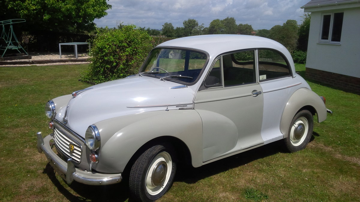1967 Morris Minor ### SOLD Subject to collection ### SOLD (picture 2 of 6)