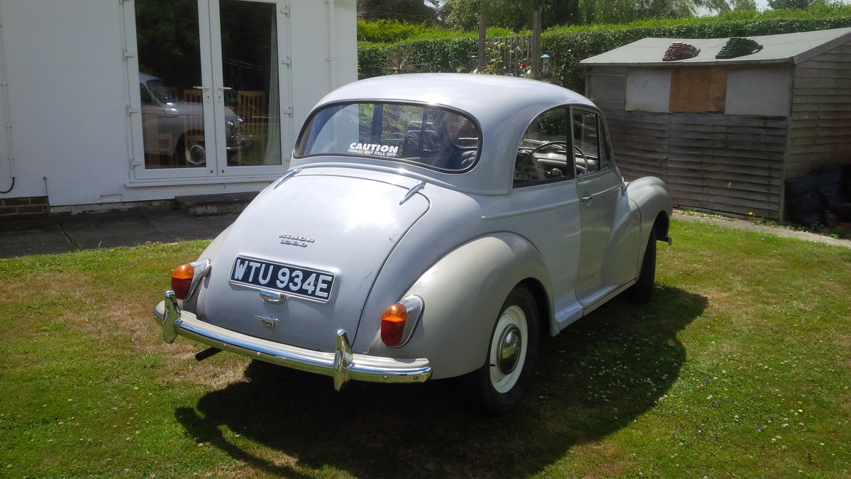 1967 Morris Minor ### SOLD Subject to collection ### SOLD (picture 4 of 6)