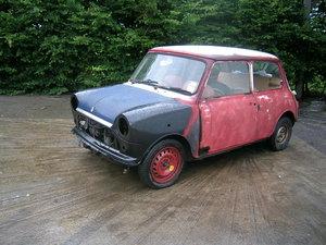 1971 Morris Mini 850 Project Historic Vehicle