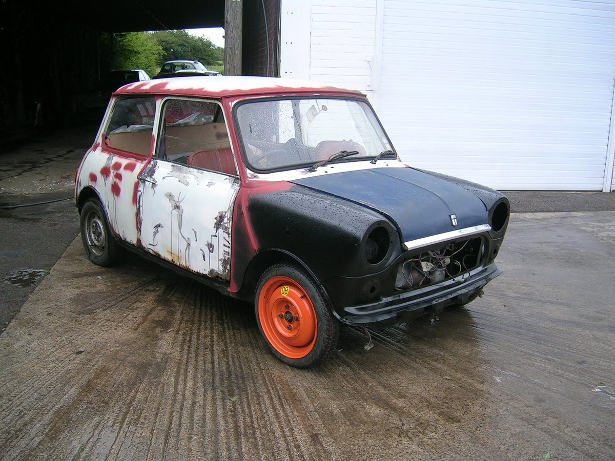 1971 Morris Mini 850 Project Historic Vehicle For Sale (picture 2 of 6)