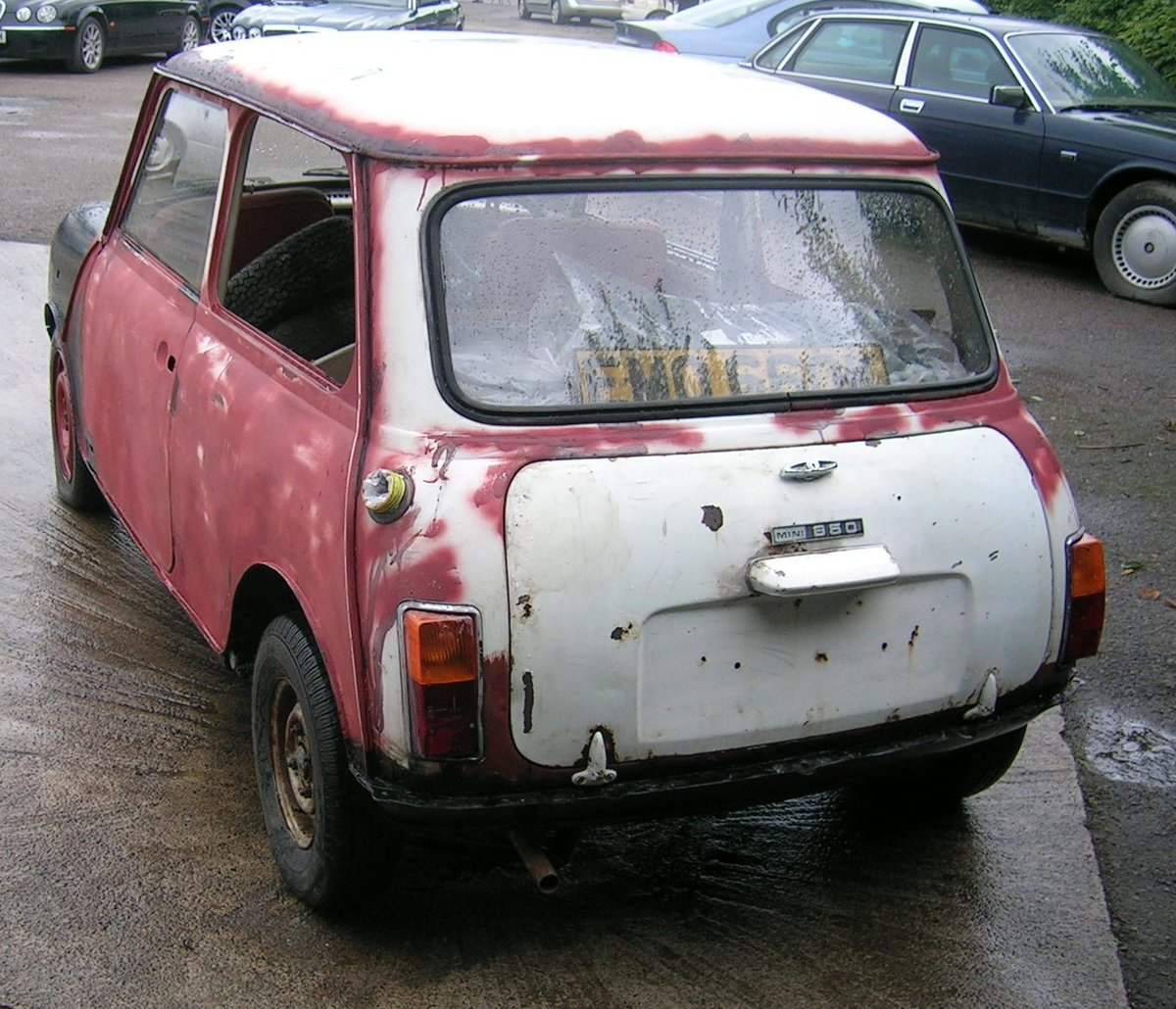 1971 Morris Mini 850 Project Historic Vehicle For Sale (picture 3 of 6)