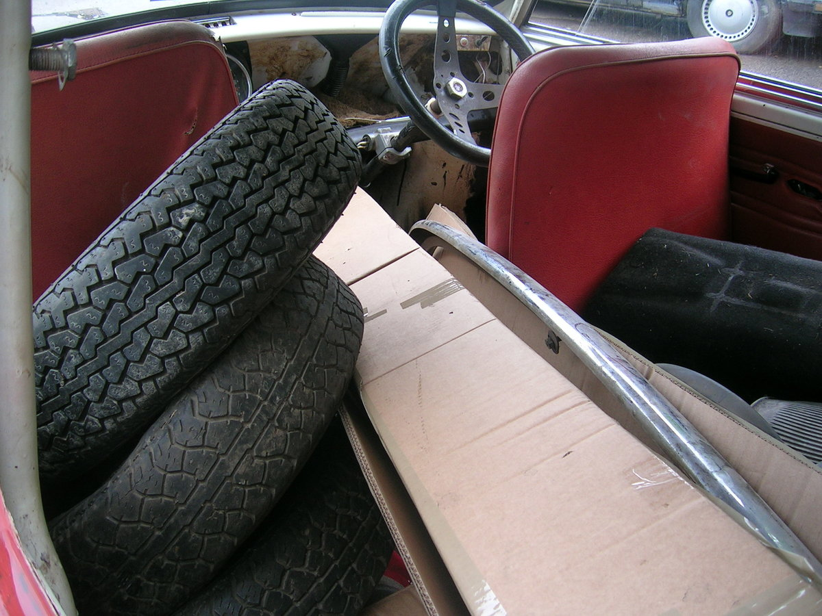 1971 Morris Mini 850 Project Historic Vehicle For Sale (picture 4 of 6)