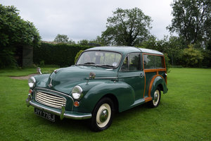1971 MORRIS MINOR TRAVELLER - NEW WOOD, VERY PRETTY & SOUND.