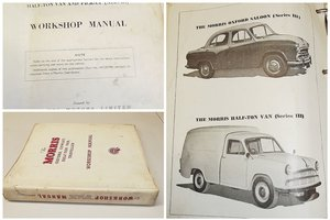 0000 MORRIS OXFORD & COWLEY memorabilia for sale